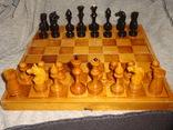 Шахматы из дерева, фото №2