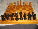 Шахматы из дерева, фото №5