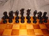 Шахматы из дерева, фото №7