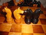 Шахматы из дерева, фото №12