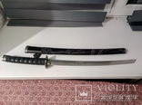 Японский самурайский меч катана со стойкой для меча. Сувенирная сабля., фото №12