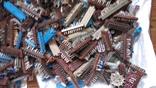 Посеребрянка 11.5 кг,разъёмы,контакты,переключатели и др., фото №3