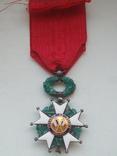Орден Почетного легиона Франция серебро, фото №5