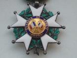 Орден Почетного легиона Франция серебро, фото №7