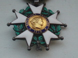 Орден Почетного легиона Франция серебро, фото №2