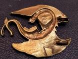 Дракон большой коллекционная миниатюра брелок бронза, фото №4