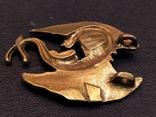 Дракон большой коллекционная миниатюра брелок бронза, фото №5