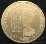 Сувенирная монета Нефертити (копия), фото №2