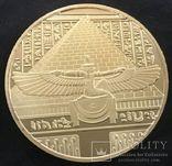 Сувенирная монета Нефертити (копия), фото №3