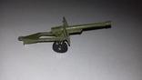 Игрушка СССР Военная техника Пушка полевая, фото №2