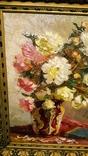 """""""Натюрморт с книгой"""",довоенная работа,х/м.,80×70 см., фото №4"""