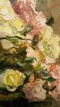 """""""Натюрморт с книгой"""",довоенная работа,х/м.,80×70 см., фото №7"""