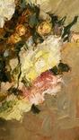"""""""Натюрморт с книгой"""",довоенная работа,х/м.,80×70 см., фото №9"""