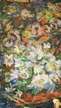 """""""Квіти поля"""",Д.А.Шайнога,м.Тернопіль,102×65 см., фото №4"""