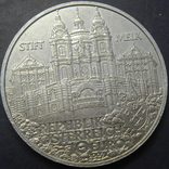 10 євро Австрія 2007 Абатство Мельк, срібло, фото №3