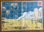 """Карта к настольной игре """"Выше всех, дальше всех,быстрее всех!"""" 30-е года., фото №2"""