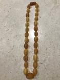 Янтарные бусы 38 грамм, фото №3