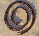 Ожерелье колье серебро, марказиты., фото №4