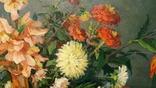 """Натюрморт с арбузом"",х/м,1954 г.,90×70 см., фото №4"