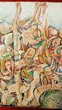 """""""В хаусі"""",96 р.,М.Безпальків,п/темпера,80×60 см., фото №3"""