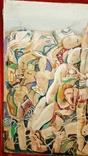 """""""В хаусі"""",96 р.,М.Безпальків,п/темпера,80×60 см., фото №4"""