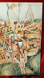"""""""В хаусі"""",96 р.,М.Безпальків,п/темпера,80×60 см., фото №5"""