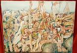 """""""В хаусі"""",96 р.,М.Безпальків,п/темпера,80×60 см., фото №2"""