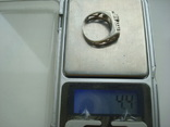 Кольцо серебро 925 18 размер, фото №8