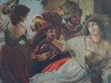 Картина.копия-октябрьский праздник в риме, фото №7