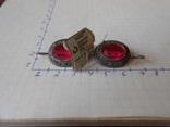 Серьги с биркой из СССР, фото №2
