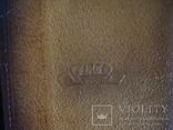 """Муж.бумажник,портмоне СССР """"Рига"""" нат.кожа 17/11см., фото №4"""