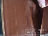 """Муж.бумажник,портмоне СССР """"Рига"""" нат.кожа 17/11см., фото №9"""