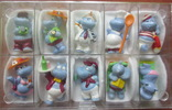 Бегемоты-киндер около 100 шт. + много разных предметов на тему бегемотов, фото №4