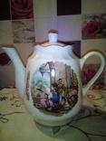 Фарфоровый чайник редкость клеймо., фото №2