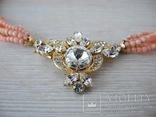 Ожерелье коралл Angel skin вес 34,4 гр, фото №5