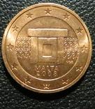 Мальта 2 цента 2008 року фото 1