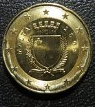 Мальта 20 центів 2008 року
