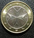 Мальта 1 євро 2008 року
