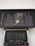 Цепочка с кулоном серебро 925, фото №5