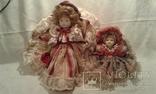 Две фарфоровые Венецианские куклы  Италия, фото №2