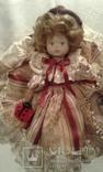 Две фарфоровые Венецианские куклы  Италия, фото №3
