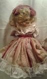 Две фарфоровые Венецианские куклы  Италия, фото №6