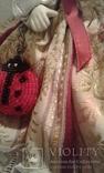 Две фарфоровые Венецианские куклы  Италия, фото №8