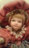 Две фарфоровые Венецианские куклы  Италия, фото №10