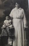 """Старинная фотография """"Мать с ребенком"""" (9*13.8), фото №5"""