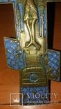 Крест 20см Эмаль, фото №4