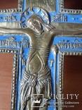 Крест 36см.Эмаль., фото №4