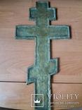 Крест 36см.Эмаль., фото №7