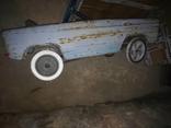 Старая педальная машинка, фото №11