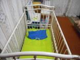 Кроватка детская Металлическая Geoby, фото №4